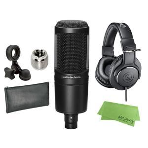 <即納可能>audio-technica AT2020 + ATH-M20X コンデンサーマイク ヘ...