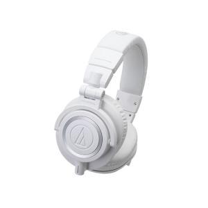 100万台突破キャンペーン対象商品/audio-technica ATH-M50xWH ヘッドホン