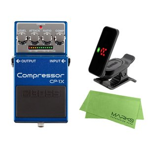 BOSS Compressor CP-1X + KORG Pitchclip 2 PC-2 + マー...