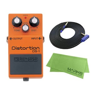 BOSS Distortion DS-1 + 3m ギターケーブル VOX VGS-30 セット[マ...