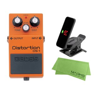 BOSS Distortion DS-1 + KORG Pitchclip 2 PC-2 + マーク...