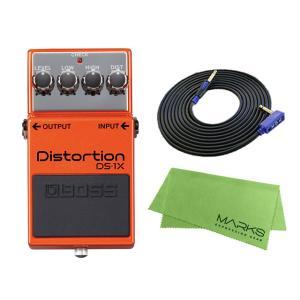 BOSS Distortion DS-1X + 3m ギターケーブル VOX VGS-30 セット[...