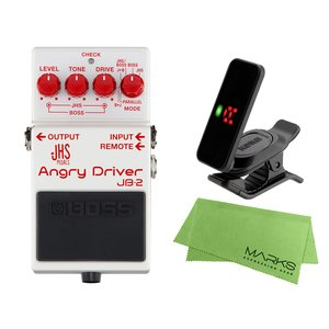BOSS Angry Driver JB-2 + KORG Pitchclip 2 PC-2 + マ...