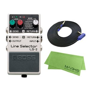 BOSS Line Selector LS-2 + 3m ギターケーブル VOX VGS-30 セット コンパクトエフェクター|marks-music