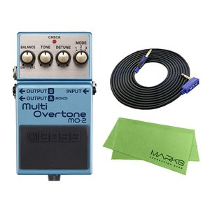 BOSS Multi Overtone MO-2 + 3m ギターケーブル VOX VGS-30 セット コンパクトエフェクター|marks-music