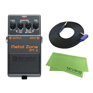 BOSS Metal Zone MT-2 + 3m ギターケーブル VOX VGS-30 セット コンパクトエフェクター|marks-music