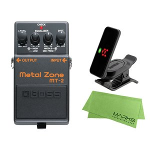 BOSS Metal Zone MT-2 + KORG Pitchclip 2 PC-2 + マーク...