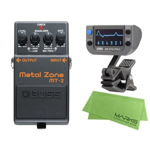 BOSS Metal Zone MT-2 + KORG AW-OTG-POLY + マークスオリジナ...