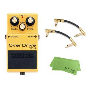 BOSS OverDrive OD-3 + パッチケーブル3本 セット[マークス・オリジナルクロス付...