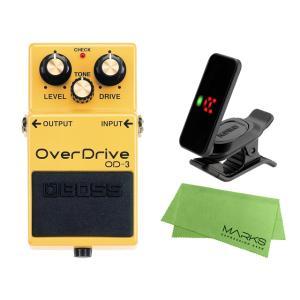 BOSS OverDrive OD-3 + KORG Pitchclip 2 PC-2 + マークス...