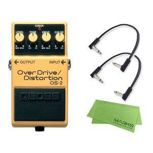 BOSS OverDrive/Distortion OS-2 + パッチケーブル3本 セット[マーク...