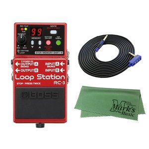 BOSS Loop Station RC-3 + 3m ギターケーブル VOX VGS-30 セット コンパクトエフェクター|marks-music
