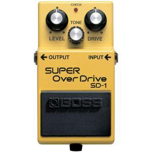 BOSS SUPER OverDrive SD-1 エフェクター[宅配便]