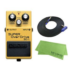 BOSS SUPER OverDrive SD-1 + 3m ギターケーブル VOX VGS-30 セット コンパクトエフェクター|marks-music
