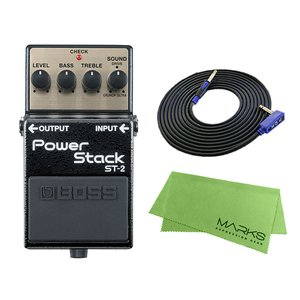 BOSS Power Stack ST-2 + 3m ギターケーブル VOX VGS-30 セット コンパクトエフェクター|marks-music