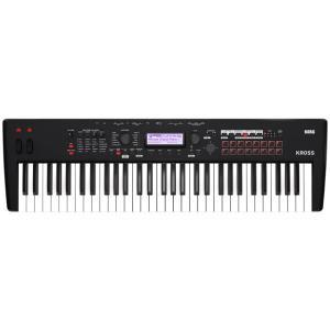 KORG KROSS 2 61鍵盤モデル Super Matte Black [KROSS2-61-MB](新品)【送料無料】|marks-music