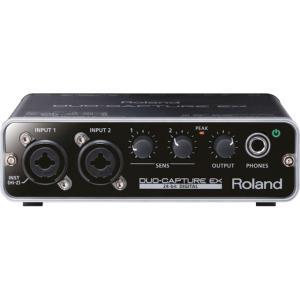 Roland DUO-CAPTURE EX [UA-22] 期間限定!ローランド・オリジナル POP スクリーン付