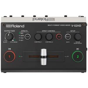 Roland V-02HD マルチフォーマットビデオミキサー|マークスミュージック
