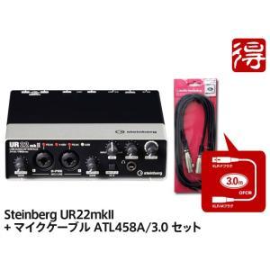 Steinberg UR22mkII + audio-technica ATL458A/3.0 セッ...