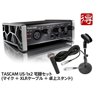 TASCAM US-1x2 [US-1X2-SN] 宅録セット【送料無料】|marks-music
