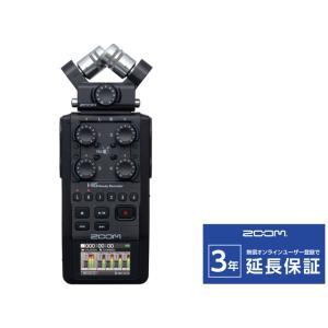 ZOOM H6 BLACK ハンディレコーダー