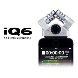 ZOOM XY ステレオマイクロフォン iQ6