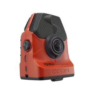 ZOOM Q2n/R レッド ハンディレコーダー/ビデオカメラ