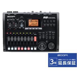 ZOOM R8 MTR/オーディオインターフェース/DAWコントローラー