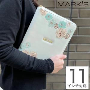 タブレットケース クリザンテーム・ホワイト iPadケース インナーケース オフィス リモート 持ち...