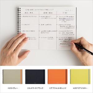 ノートブック 文房具 横型 アイデア用ノート エディット EDiT マークス オリジナル|marks