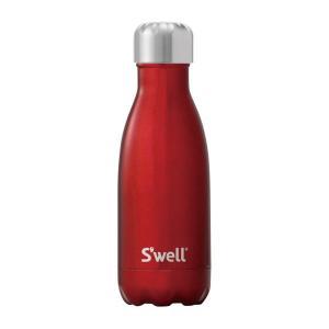 ボトル・9oz・260ml S'well(スウェル) シマー ローボートレッド 水筒 ステンレス Swell スウエル 日用品 キッチン 台所用品