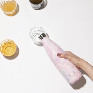 ボトル 17oz・500ml S'well スウェル エレメンツ ジオードローズ 水筒 ステンレス ...