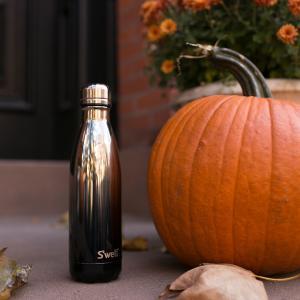 ボトル 17oz 500ml S'well スウェル メタリック ホワイトゴールドオンブレー 水筒 ...