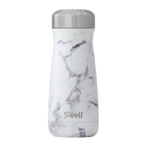 ボトル 16oz 470ml S'well スウェル トラベラーズ エレメンツ ホワイトマーブル 水筒 ステンレス Swell スウエル