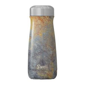 ボトル 16oz・470ml S'well スウェル パティーナ ゴールデンフューリー 水筒 ステン...