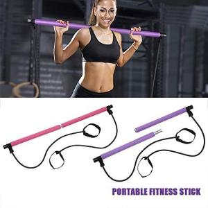 ピラティス スティック ヨガ フィットネス トレーニング 棒 トレーニング用器具 フィットネス機器美...