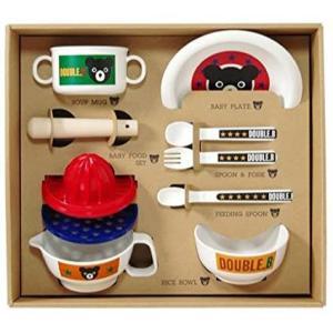 mikihouse ミキハウス 66-7001-369 【ダブルB】【箱付】食洗機OK!!ベビー食器...