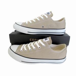 コンバース オールスター 限定モデル converse キャンバス オールスター カラーズ OX ベージュ CANVAS ALL STAR COLORS OX [メンズ] [レディース] スニーカー|marm-shopping0105