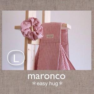 ヒッコリー♪WH×RDボーダー L|maronco