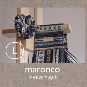 ノルディック風味♪ブルーブラウン L|maronco