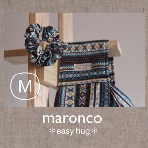 ノルディック風味♪ブルーブラウン M|maronco