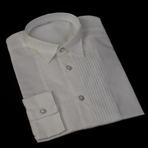 フォーマルウィングカラーシャツ首周り36cm〜51cm フォ...