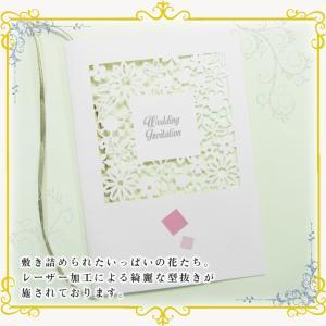 結婚式招待状 -フラワーボックス- 10セット|marry-press|02