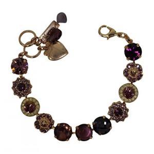 ■商品詳細 Sparking mix of Purple Swarovski Crystals : ...