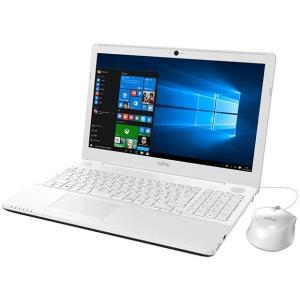 アウトレット わけあり 富士通 FMV LIFEBOOK AH49/X FMVA49XWZ Microsoft Office Windows10 15.6インチ HD液晶 Core i5 1TB 箱潰れ