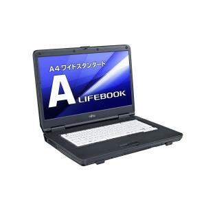 ノートパソコン パソコン PC 中古 富士通 FMV LIFEBOOK A A552/E FMVNA6FE KINGSOFT Office 15.6型 HD 250GB DVD Windows7 Celeron B730 わけあり アウトレット|marshal