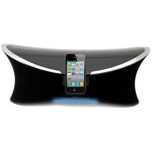 iPod / iPhone / iPad 用 スピーカー内蔵 ドッキングステーション H&B IP-280i 2.1ch 35Wx2 + 40W サブウーファー デジタルステレオFMチューナー USB AUX|marshal