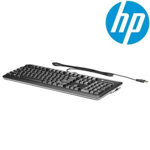 HP 日本語 キーボード 有線 USB接続 CCID スマートカード 不正アクセス防止 フルレイアウト テンキー KUS1206 ブラック marshal