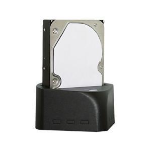 わけあり 箱つぶれ アウトレット 未使用品 HDDスタンド MAL-4935SBKU3 USB3.0...