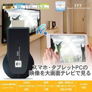 ミラキャスト Android iPhone ミラキャストレシーバー アダプタ MiraCast 無線 HDMI スマホの画面をテレビで視聴 ワイヤレスミラーリング ドングルレシーバー|marshal